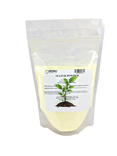 Yellow Sulfur Powder Greenway Biotech Brand 1 Pound