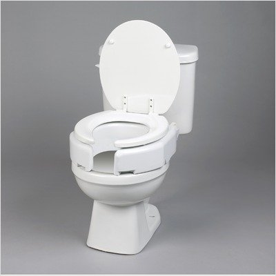 Removable Hinged Raised Toilet Seat Type: Regualr by Ableware (Image #3)
