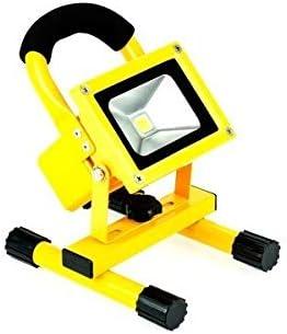 Faro foco LED recargable portátil flood light batería 10W-20W luz ...