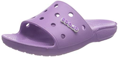 Crocs Unisexs Classic Slide Open Toe Sandals