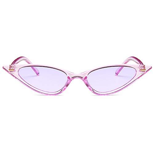 Women Cat Eye Sunglasses Small Triangle Vintage Sun Glasses Retro Cateye Eyewear ()