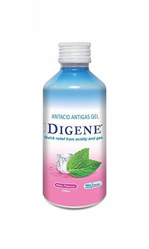 2 x Digene Gel - Mint Flavour 200ml + Free Vetiver Bath Scrub