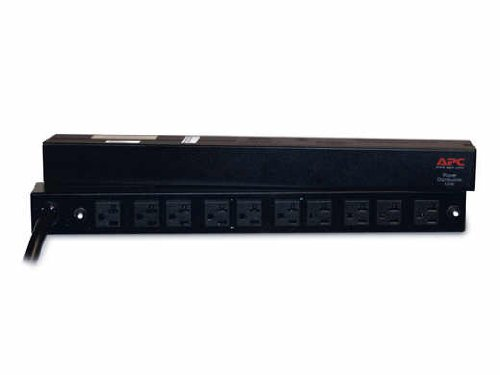 APC AP9560 120V 10 Port Basic Power Distribution PDU Rack