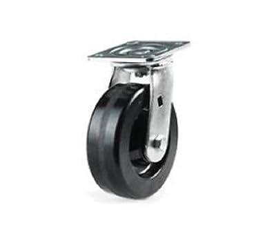 "One Colson Swivel Caster with 5"" x 2"" 1000# CapPhenolic Wheel 6-1/2"" OAH"