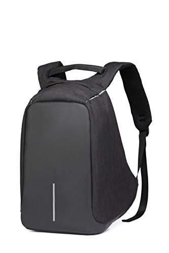 Dunalnd Mochila BackPack AntiRobo Impermeable Anti robo con puerto de carga USB Laptop Multicolor1