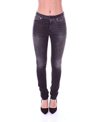 Cotone Saint Jeans 480702Y869L1407 Nero Donna Laurent OnTInPq8