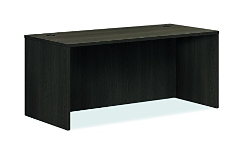 - HON BL Laminate Series Office Desk Shell - Rectangular Desk Shell, 66w x 30d x 29h, Espresso (HBL2102)