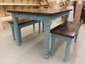Husky Farm Dining Table Legs in Soft Maple (Set of 4) by Osborne Wood Products (Image #6)