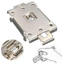 DIN Rail Mount Bracket Equipment Rack G3NE G3NA Electrical for SSR R99-12 Fins