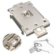 - DIN Rail Mount Bracket Equipment Rack G3NE G3NA Electrical for SSR R99-12 Fins