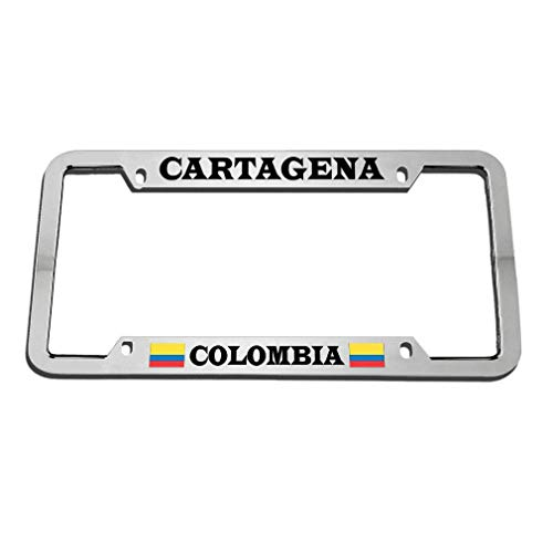 Headwind GR Black Love License Plate Frames, Car License Plate Frames for US Canada Vehicles,12×6 in-ch Cartagena Colombia