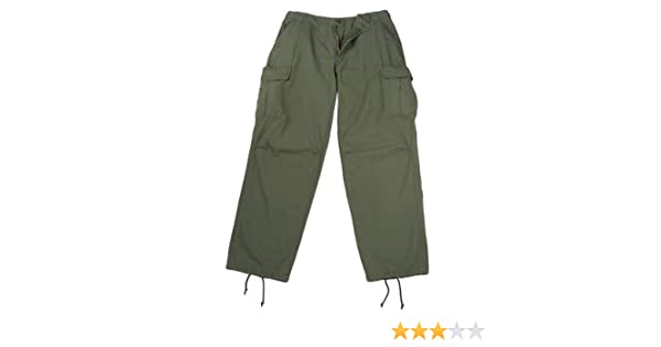 Amazon.com  Vintage Vietnam Era 6 Pocket Fatigue Pants 85c42af23da