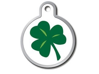 Mouse Mickey Holiday Personalized (Holiday Collection Personalized Custom Engraved Pet ID Tags! (St. Patrick's Day Shamrock))