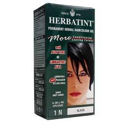 (6 PACK) - Herbatint - Black Hair Colour | 120ml | 6 PACK BUNDLE by Herbatint