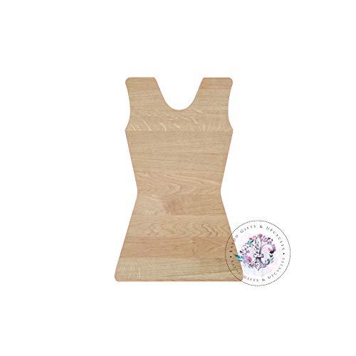 MarthaFox Cheer Leader Uniform Wooden Cutout Unfinished Uniform Wooden Blanks Cheer Wooden Shapes Gymnastic Wooden Door Hangers Shape Blanks