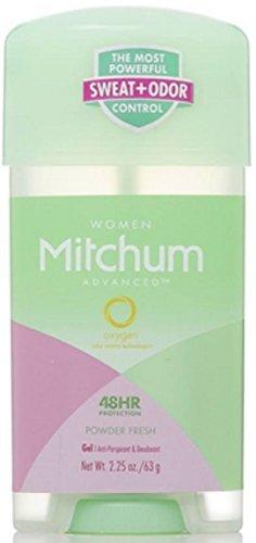 Lady Mitchum Oxygen Odor Control Antiperspirant & Deodorant, Powder Fresh 2.25 oz by Mitchum