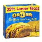 Ortega Taco Shells 5.8 OZ (Pack of 24) by Ortega