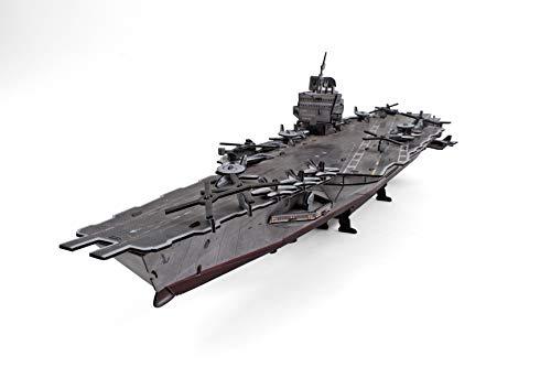 Uss Enterprise Aircraft Carrier - CubicFun-3D Ship Model Puzzle,USS Enterprise Aircraft Carrier,P677h 121 Pieces