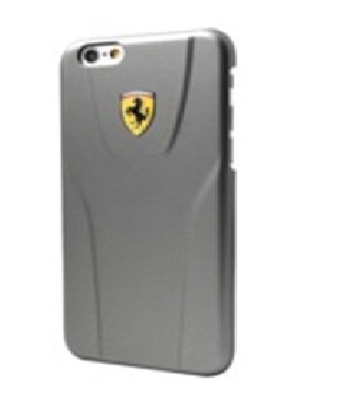 "Price comparison product image Ferrari Scuderia 3D Hard Case for iPhone 6/6S - 4.7"" - Grey"