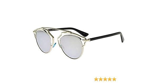 7c6d04b0340f Amazon.com  New Christian Dior SO REAL APP DC palladium black grey silver  mirror Sunglasses  Clothing