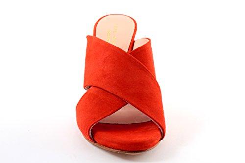 Pepe Mujer De Rojo Castell Plataforma Piel rBRpr