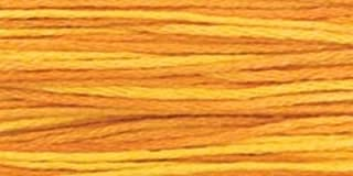 product image for Weeks Dye Works Over-Dyed 6-Strand Embroidery Floss, 5 Yds: Marigold