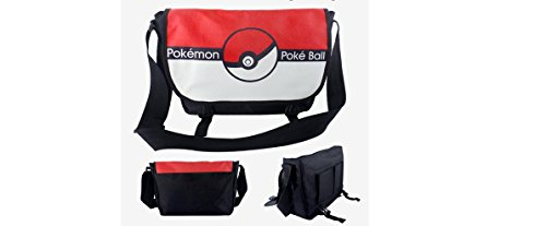 Price comparison product image Pokemon Pokeball Red and White Characters Messenger Bag