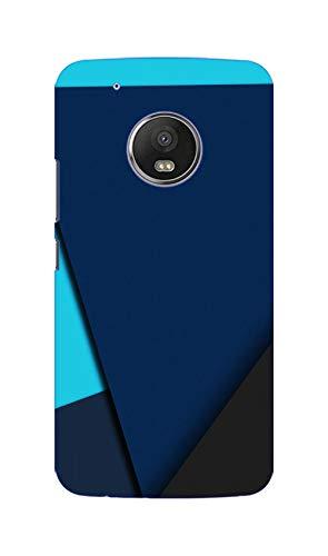 Sankee Polycarbonate Back Cover for Motorola Moto G5 Plus   Blue