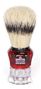 Omega 81052 Banded Boar Shaving Brush