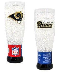 NFL 16 Oz. Crystal Freezer Pilsner Glass NFL Team: St. Louis Rams (Cardinals Crystal Freezer Pilsner)