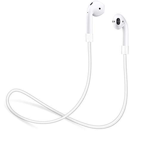 innoGadgets Strap for Apple AirPods | Smart Accessory - Never Lose Your AirPods | Connector Wire Cable Cord for AirPods | White (Apple Ipod Strap)