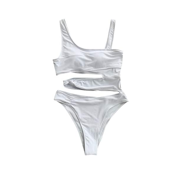 Bikini Donna Brasiliana Stampa Leopardo V-Collo Pezzo Costumi da Bagno Donna Bikini Retro Sexy Body Costume Bandage… 2 spesavip