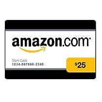 Amazon.com $25 Gift Card (0108)