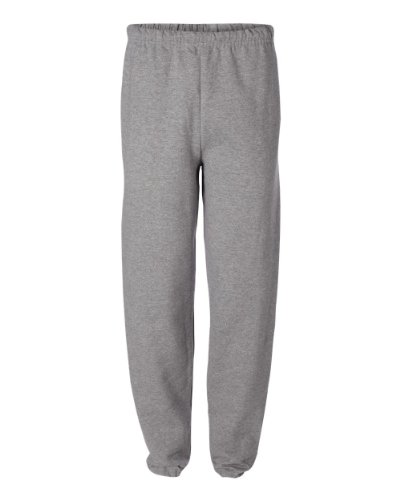 Jerzees mens 8 oz. 50/50 NuBlend Fleece Sweatpants(973)-OXFORD-XL - Jerzees Fleece Oxfords