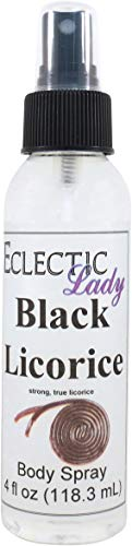 Licorice Body - Black Licorice Body Spray, 4 ounces