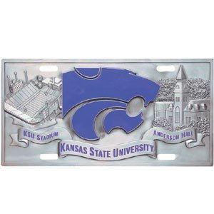 Kansas St. Wildcats Collector's License Plate