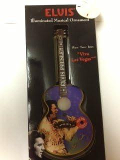 ELVIS iluminado figura Musical guitarra,