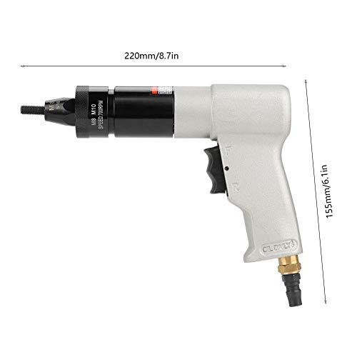 Air Riveter Gun Pull Nut Automatic Pneumatic Riveting Nut Gun Tool(M8/M10) by Wal front (Image #3)