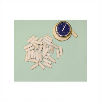 addition mouthpieces for Buhl spirometer (500 pieces) disposable cardboard by Baseline