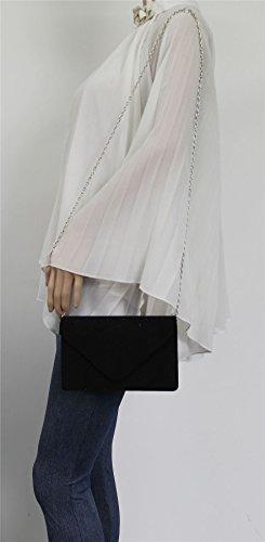 Unique Taille Noir pour Pochette femme Clutch Swankyswans Bag wY4aqUF