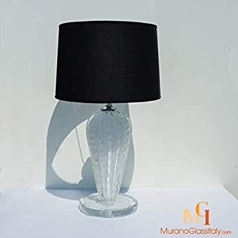 Lámpara de mesa de diseño, 1 luz, 56 cm de alto, fabricada en ...