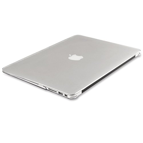 Mosiso Plastic Hard Case Cover for MacBook Air 13 Inch (Models: A1369 and A1466), Crystal Clear