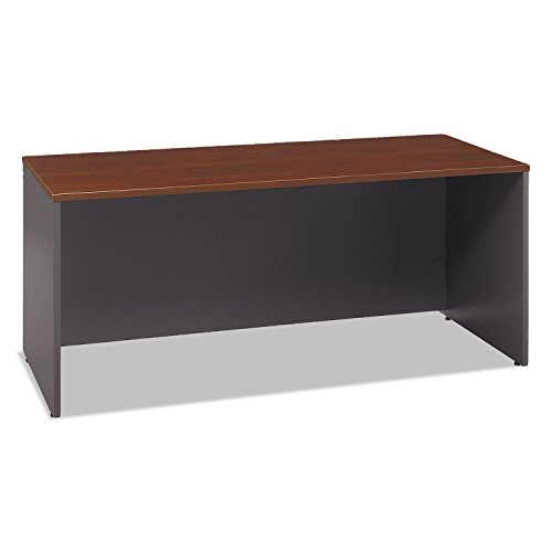 Bush Business Furniture Series C 72W x 24D Credenza Desk in Hansen Cherry (72 Series Bush C)