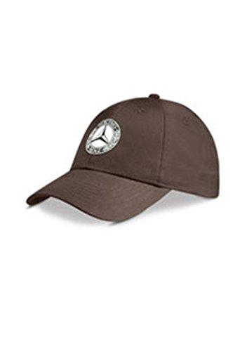 Genuine Mercedes Benz Men's Classic Retro Vintage Baseball Cap Hat - Brown
