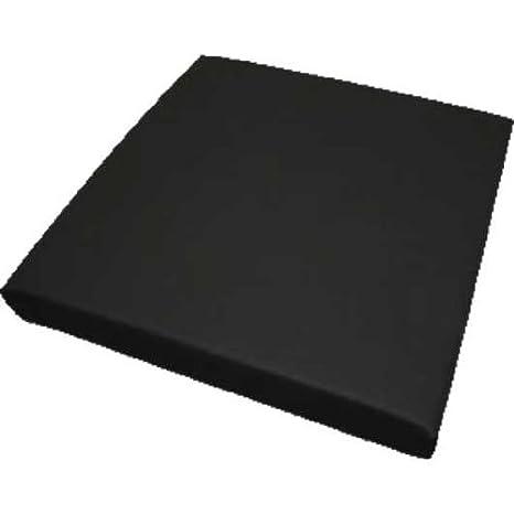 ADL Silflex 200, gel de silicona con viscoelástico-espuma, colour negro. 43 x 5 cm, anti-Homecare GmbH-cojín del asiento: Amazon.es: Salud y cuidado ...