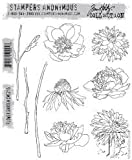 Stamper's Anonymous Tim Holtz Cling Stamps ~ Flower Garden