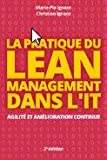 Pratique du Lean Management dans l'IT : Agilité et amélioration continue