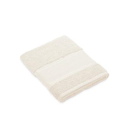 Toalla de lavabo blanco roto para bordar a punto de cruz: Amazon.es: Hogar