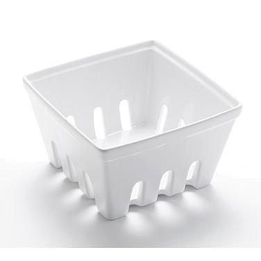 American Metalcraft BBSKT3 Ceramic Berry Basket, Large