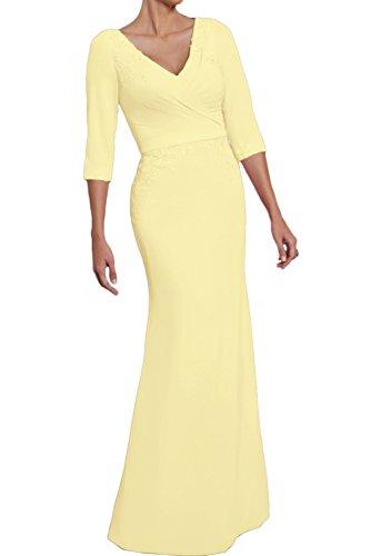 Topkleider Vestido Amarillo Vestido Vestido para Topkleider mujer para para mujer Topkleider Amarillo qAwFtpW